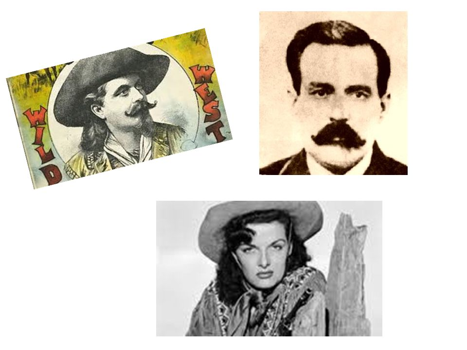 Famous People from the Wild West By Lauren Ground
