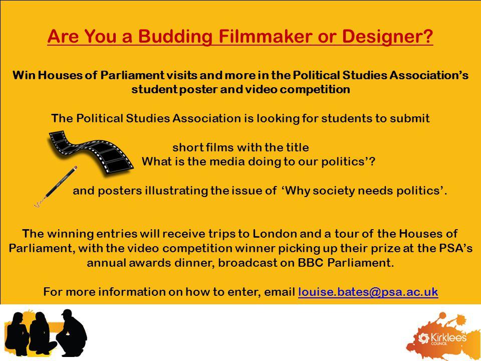 Are You a Budding Filmmaker or Designer.
