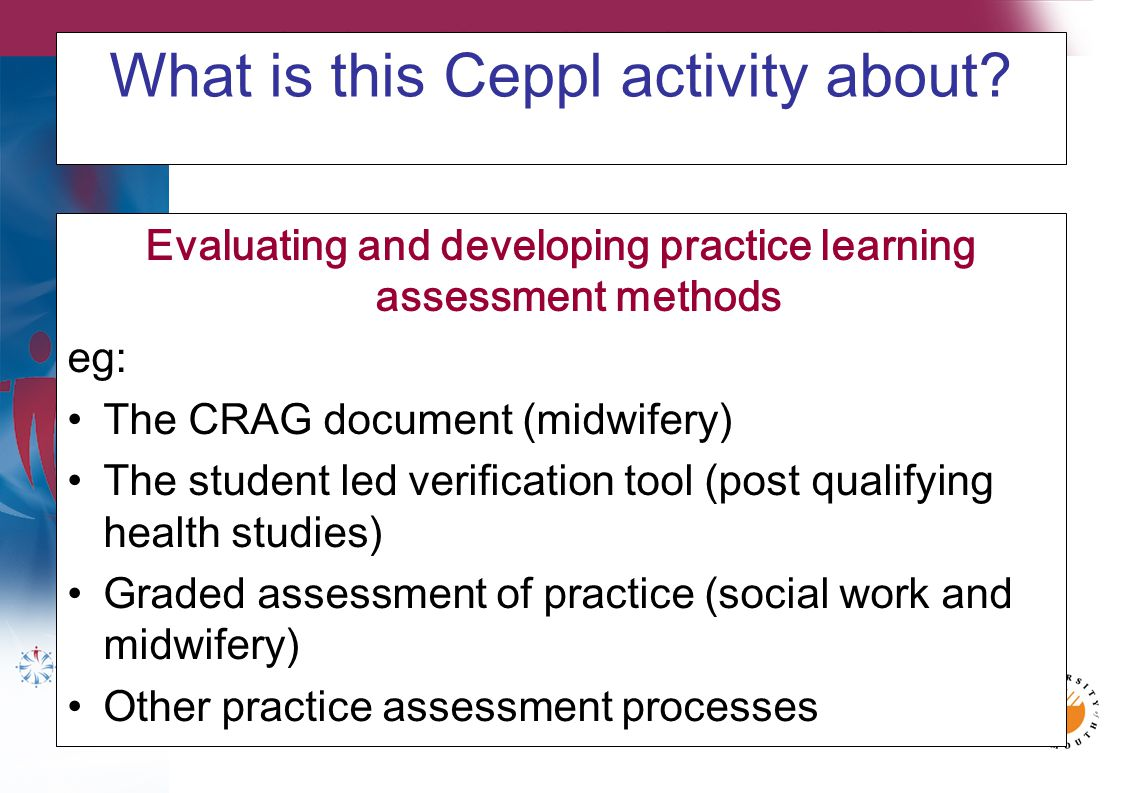 We are keen to involve others in this Ceppl activity