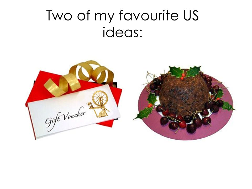 Two of my favourite US ideas:
