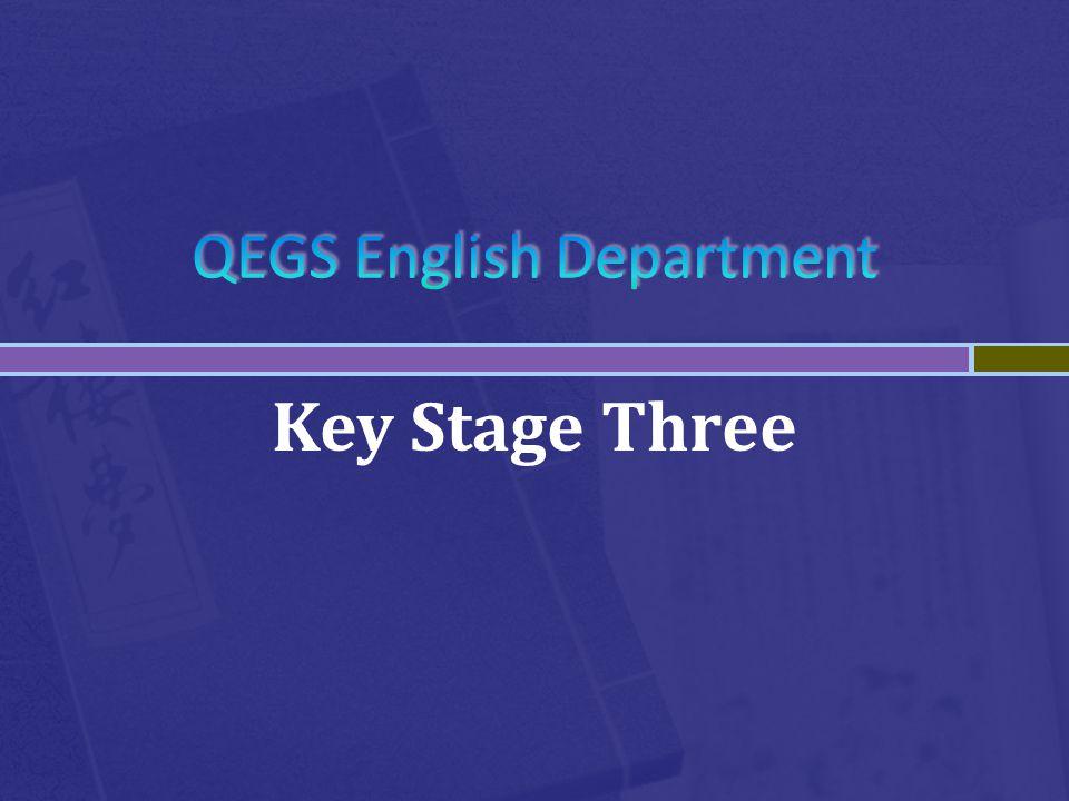 Key Stage Three