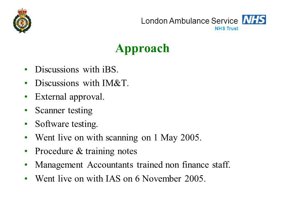 London Ambulance Service NHS Trust Authorising via Email