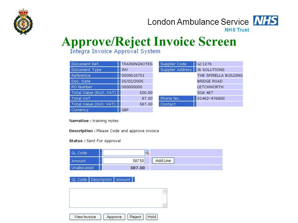 London Ambulance Service NHS Trust Reminder E-Mail