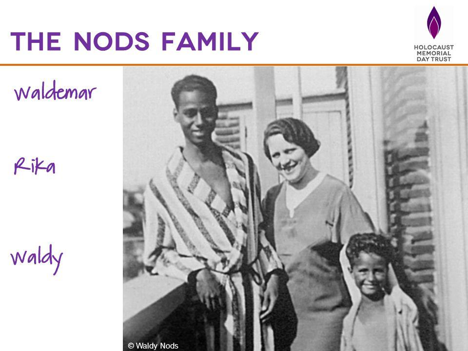 The nods family Waldemar Rika Waldy © Waldy Nods