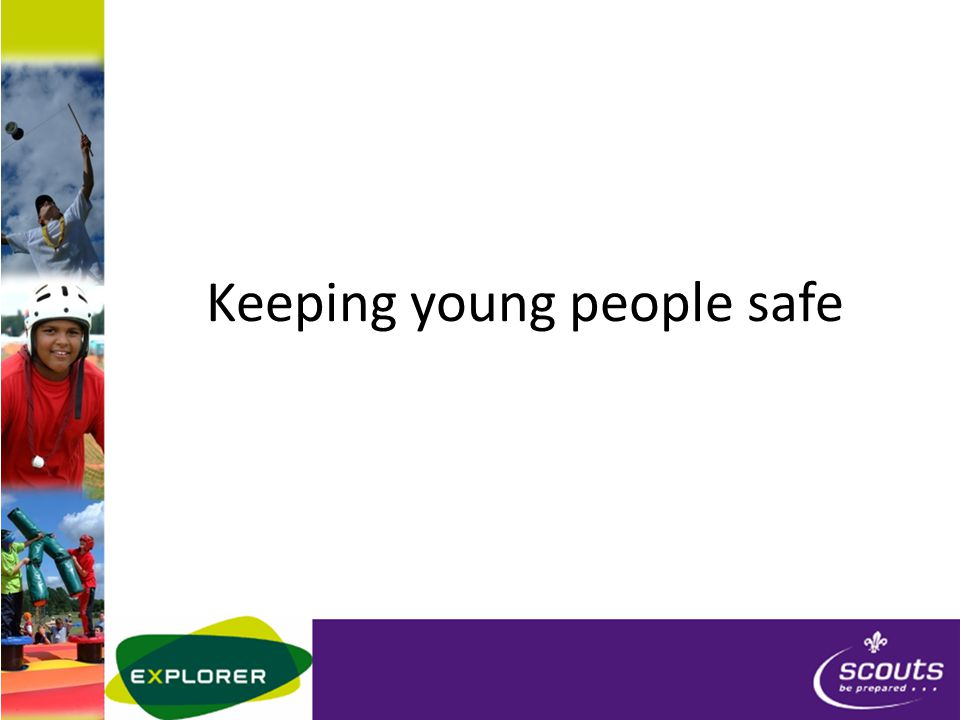 Keeping young people safe