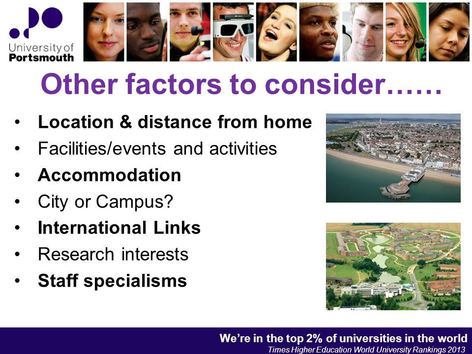 We're in the top 2% of universities in the world Times Higher Education World University Rankings 2013 We're in the top 2% of universities in the world Times Higher Education World University Rankings 2013 We're in the top 2% of universities in the world Times Higher Education World University Rankings 2013 Who or what is UCAS.