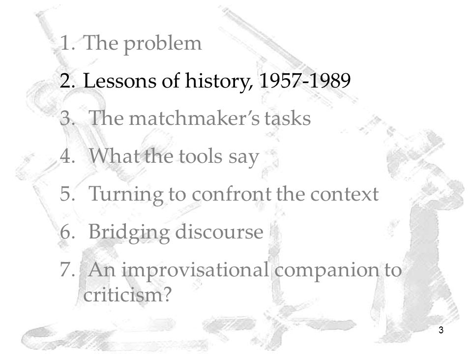 4 Herbert Simon, untitled lecture notes, Operations Research Society of America meeting, 14 November 1957