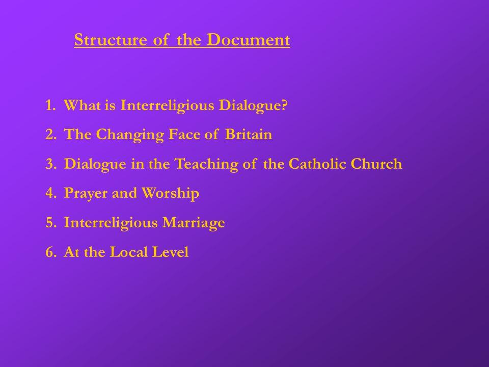 1.What is Interreligious Dialogue.
