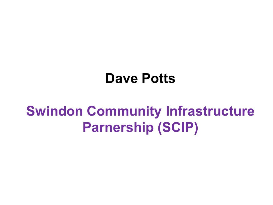 Cllr David Renard Chair of One Swindon Partnership and Leader of the Council