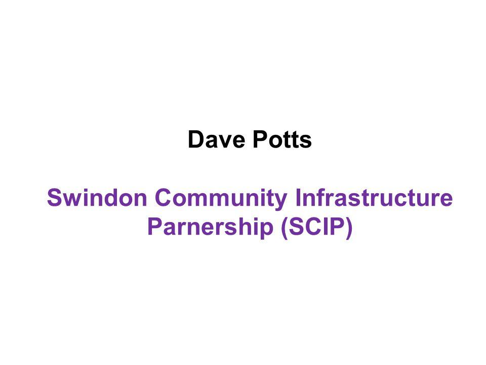 Dave Potts Swindon Community Infrastructure Parnership (SCIP)