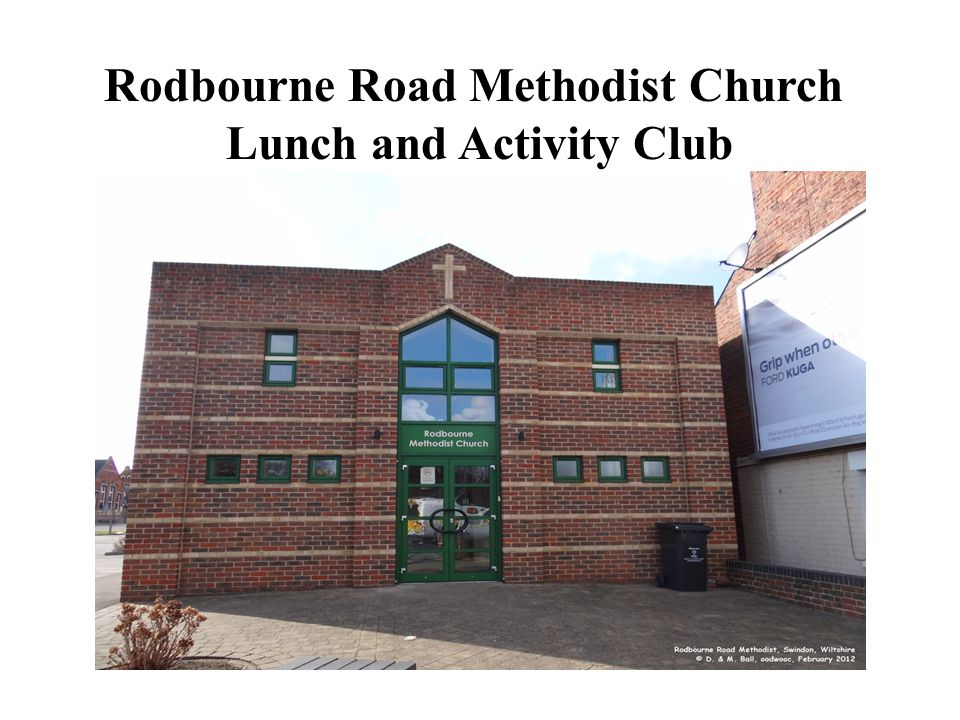 Rodbourne Road Methodist Church Lunch and Activity Club
