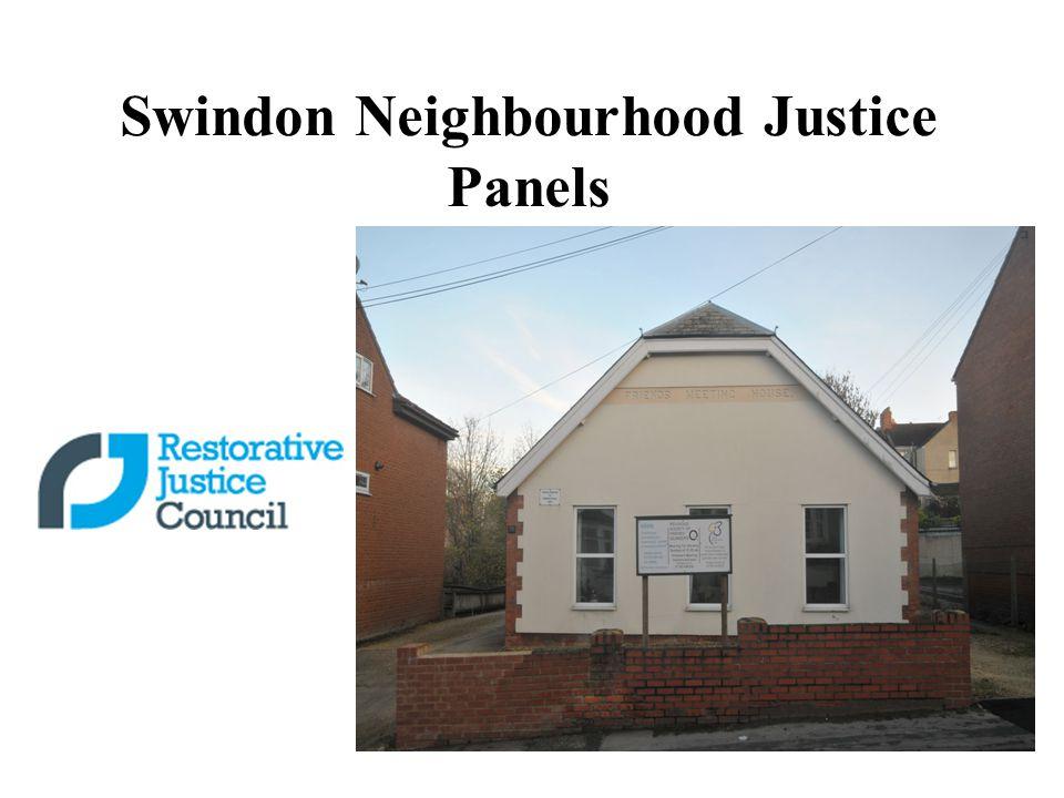 Swindon Neighbourhood Justice Panels