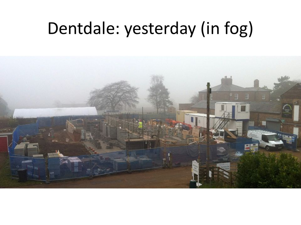 Dentdale: yesterday (in fog)