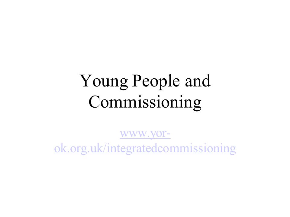 Application Process Reviewed every year Feedback from last panel and applicants Young person friendly Two levels of detail Interviews Evaluation process questions