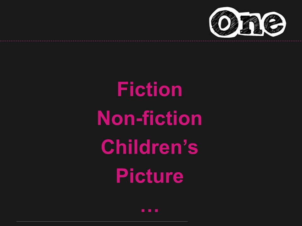 Fiction Non-fiction Children's Picture …