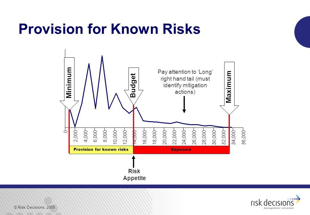 © Risk Decisions, 2009 1c.