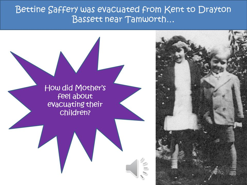 How did Mother's feel about evacuating their children.