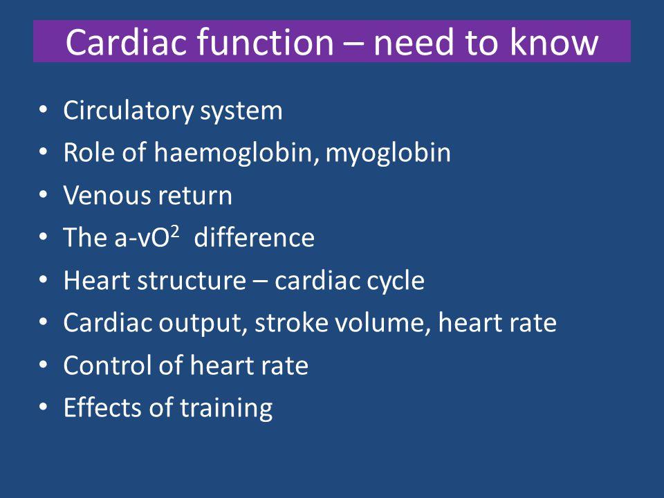 Medulla Oblongata Cardiac Accelerator Centre Cardiac Inhibitory Centre Chemo-receptors CO 2 H + Baro-receptors Blood pressure Sympathetic (Acc nerve) Parasympathetic Vagus nerve Vaso- motor Centre Vaso- constriction or dilation Movement Muscle action Heart Rate Control Jan07Q5Ans