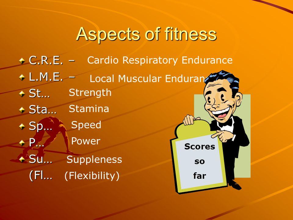 Perth Grammar School Standard Grade PE Fitness