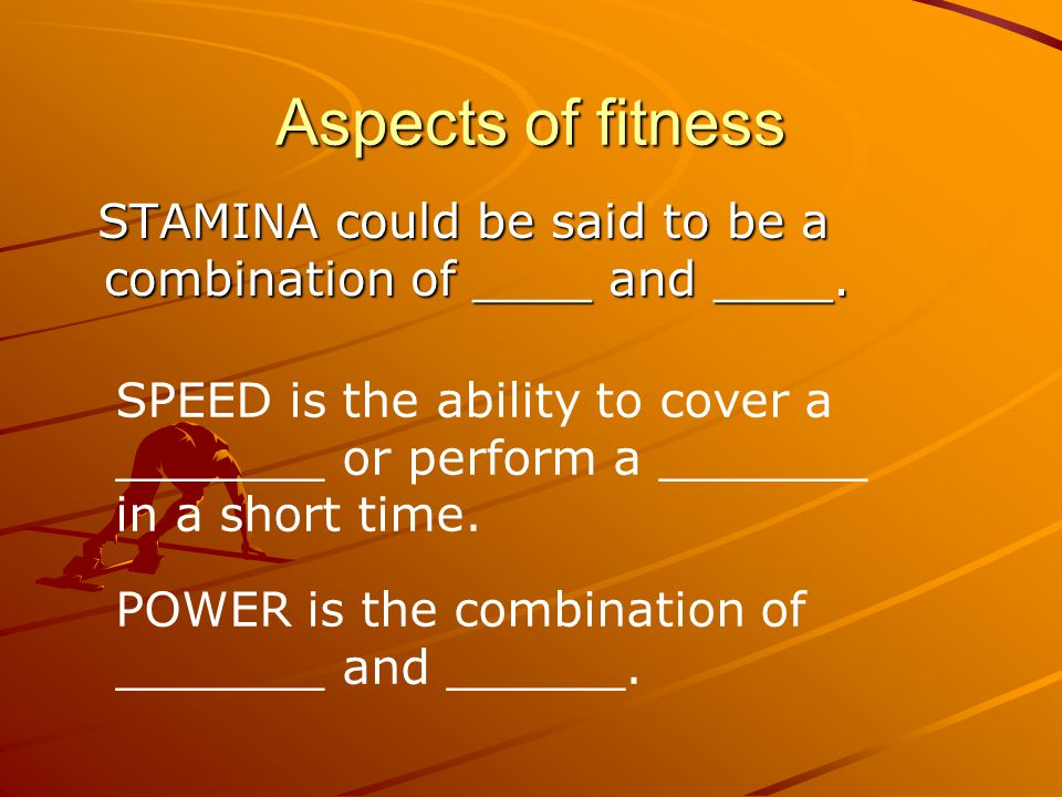 Aspects of fitness CRE is the ability of the ______ and _____ to work continuously.