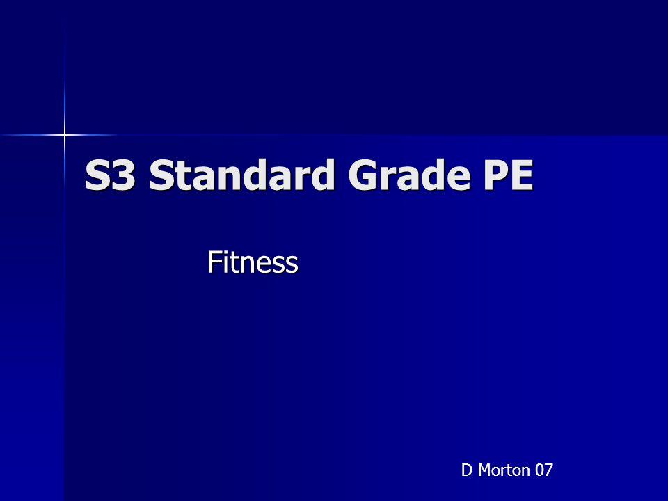 "Presentation ""S3 Standard Grade PE Fitness D Morton 07. Revision ..."