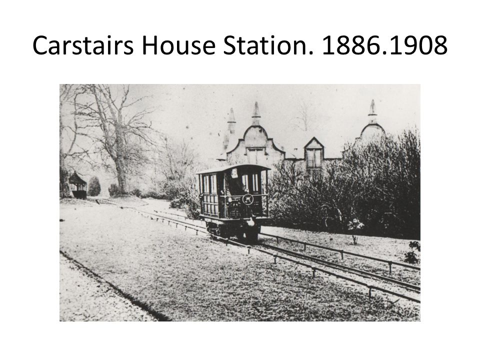 Carstairs House Station. 1886.1908