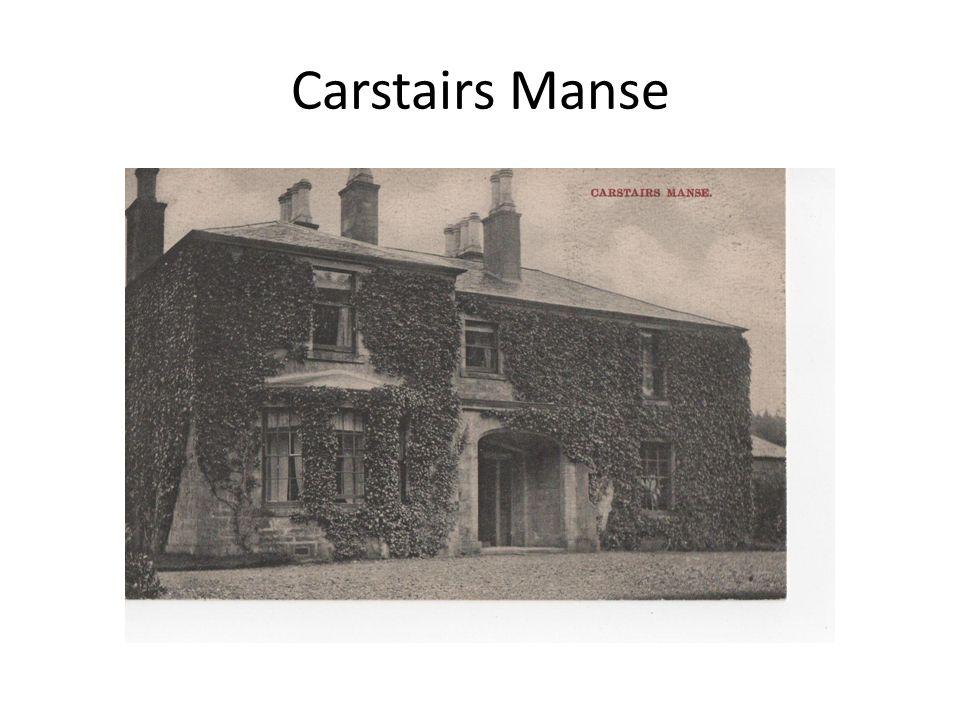 Carstairs Manse