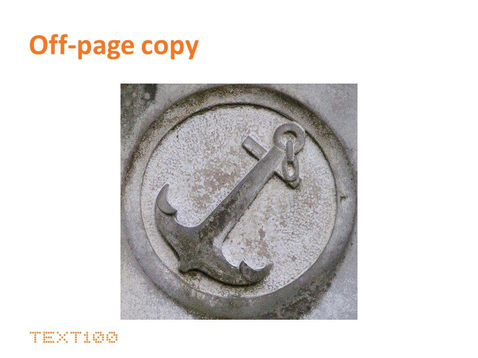 Off-page copy