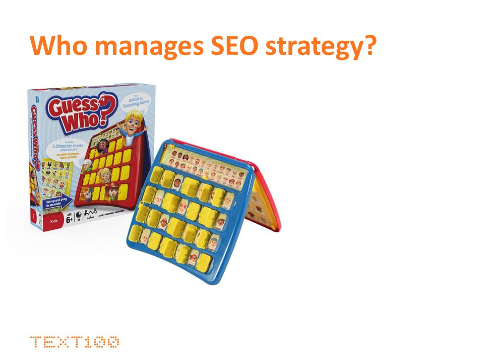 Who manages SEO strategy?
