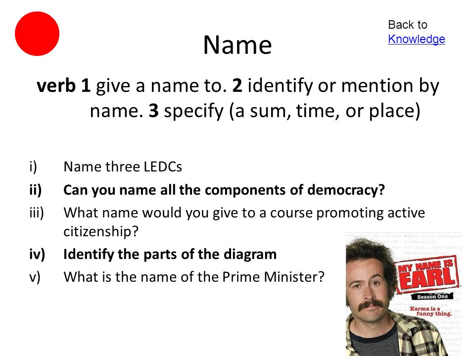 Classify verb - to identify by or divide into classes; to categorize i)Sort the cards according to the categories ii)Identify which features are those of an autocracy iii)Decide on categories and then classify the group accordingly iv)How would you classify this.