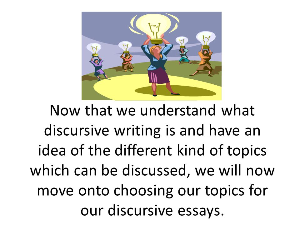 Choosing a Topic First, you should think about a topic which you will write about.