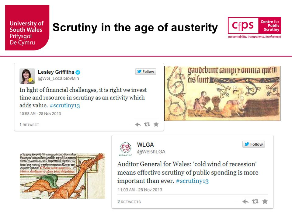 Scrutiny in the age of austerity