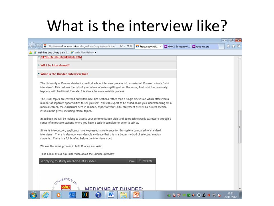 What is the interview like