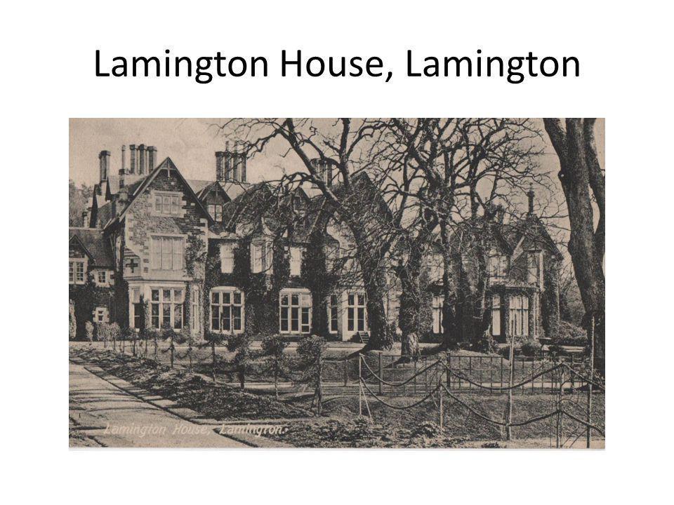Lamington House, Lamington