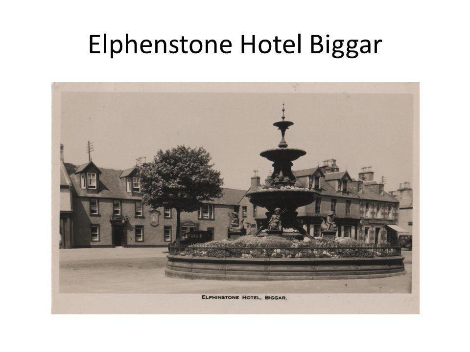Elphenstone Hotel Biggar