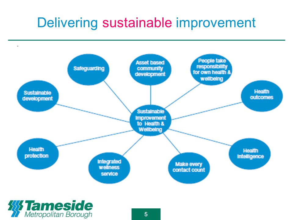 Delivering sustainable improvement 5
