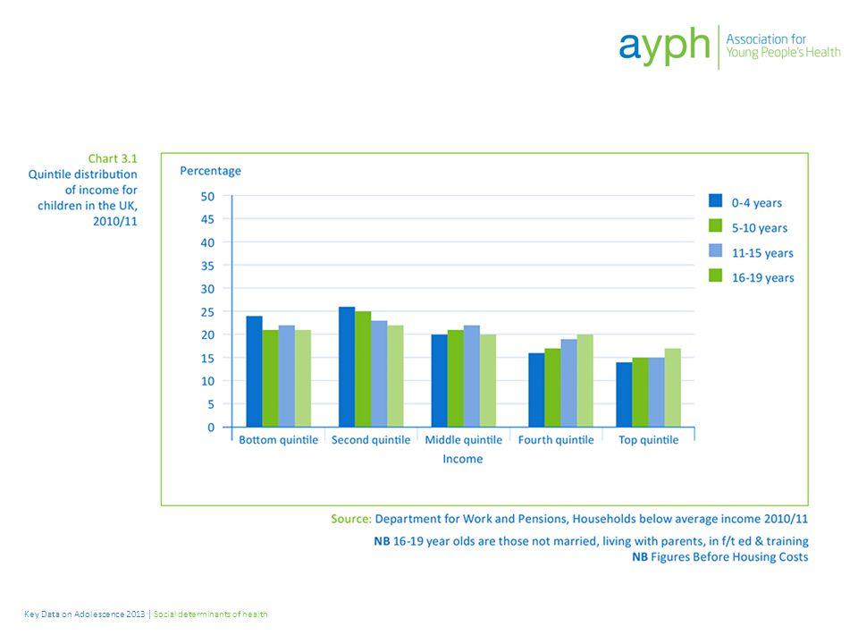 Key Data on Adolescence 2013 | Social determinants of health