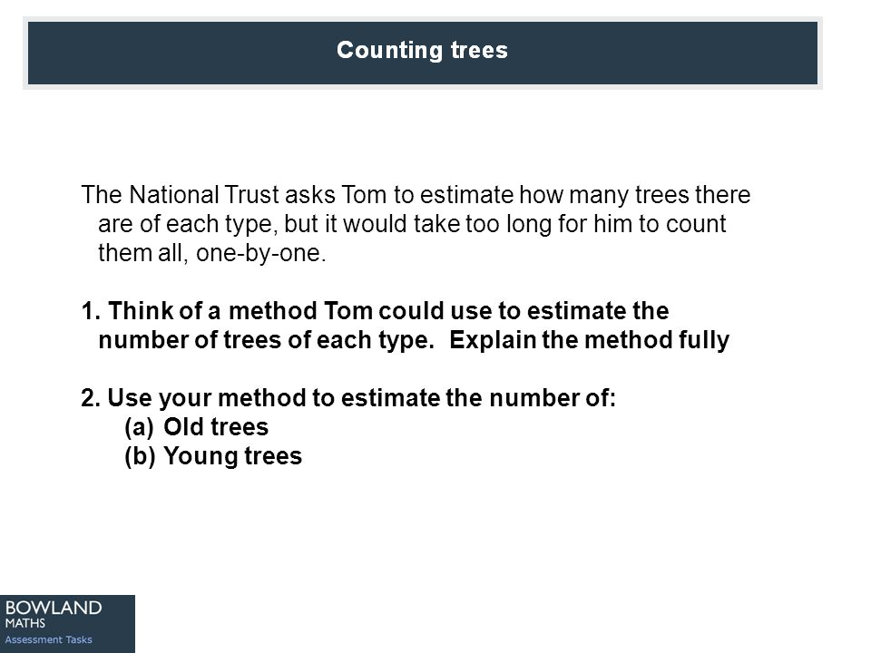 Counting Trees