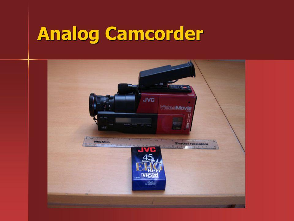 Analog Camcorder