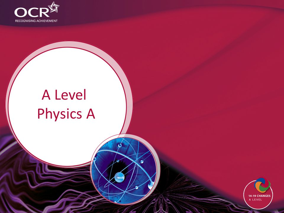 A Level Physics A