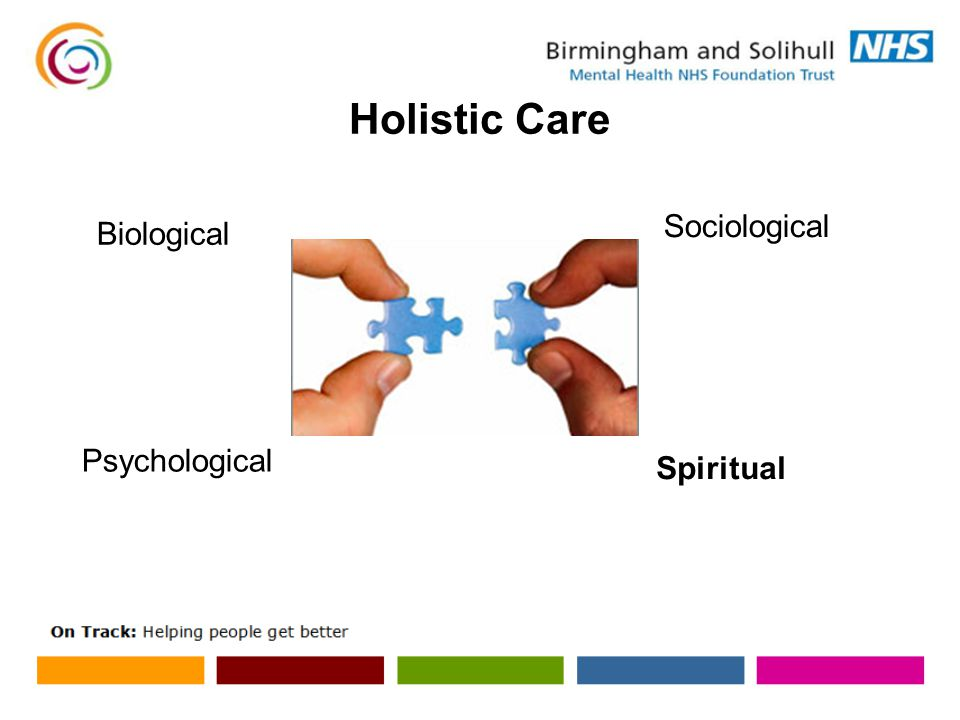 Holistic Care Biological Psychological Sociological Spiritual