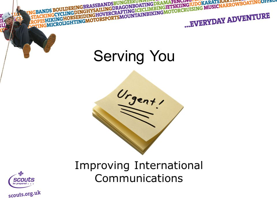 Improving International Communications Serving You