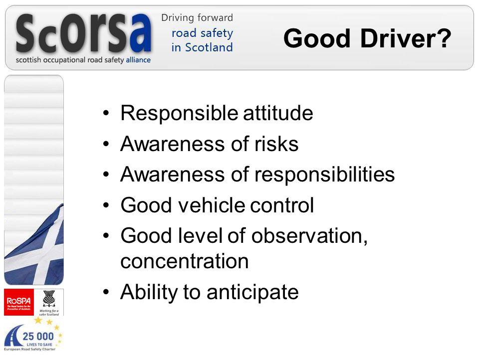 Good Driver.