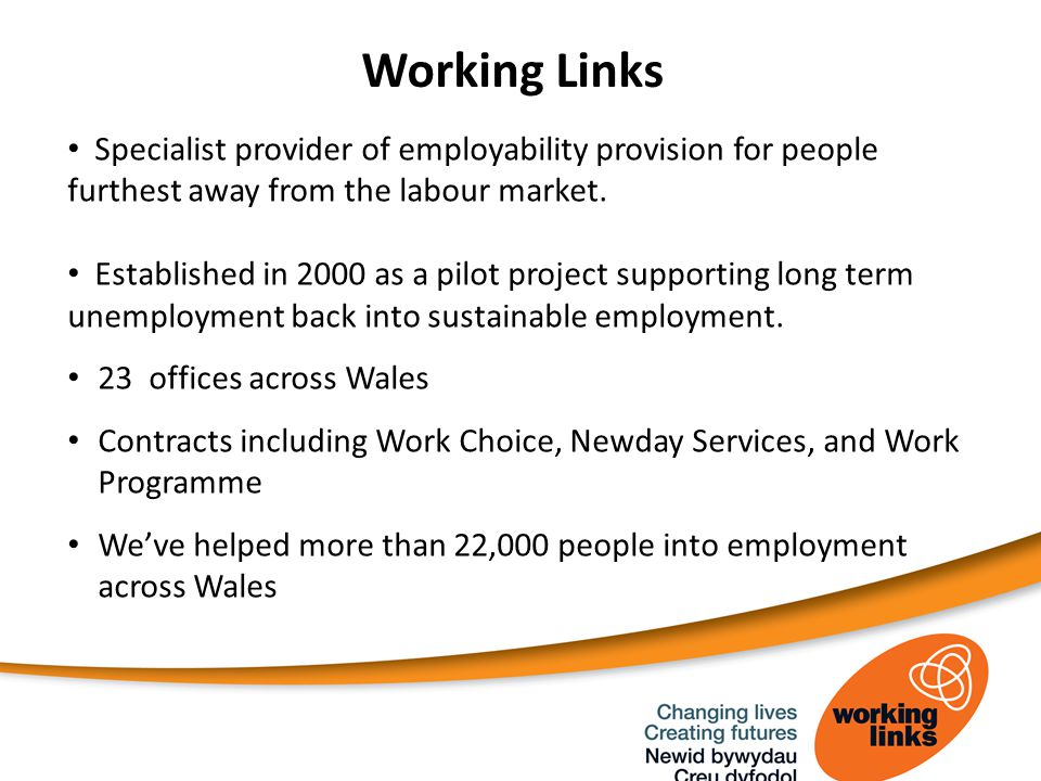 Specialist provider of employability provision for people furthest away from the labour market.