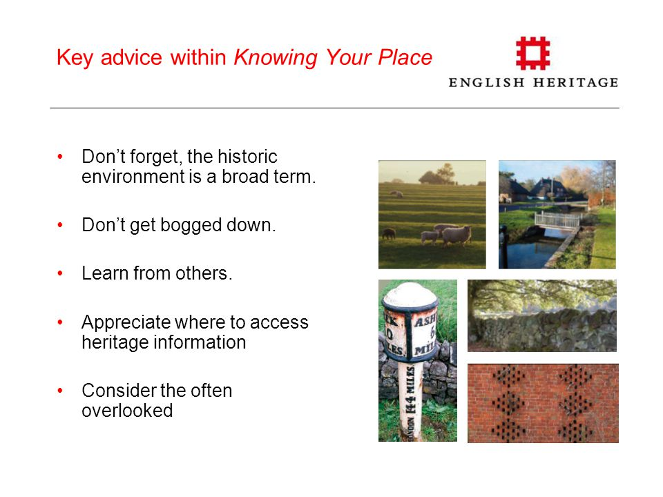 Knowing Your Place – greater detailed advice… How to consider, understand, and respond to: landscape, village layout, historic buildings, places of worship, character and townscape, green spaces, views, conservation areas, archaeology… Campden house lodges and gateway