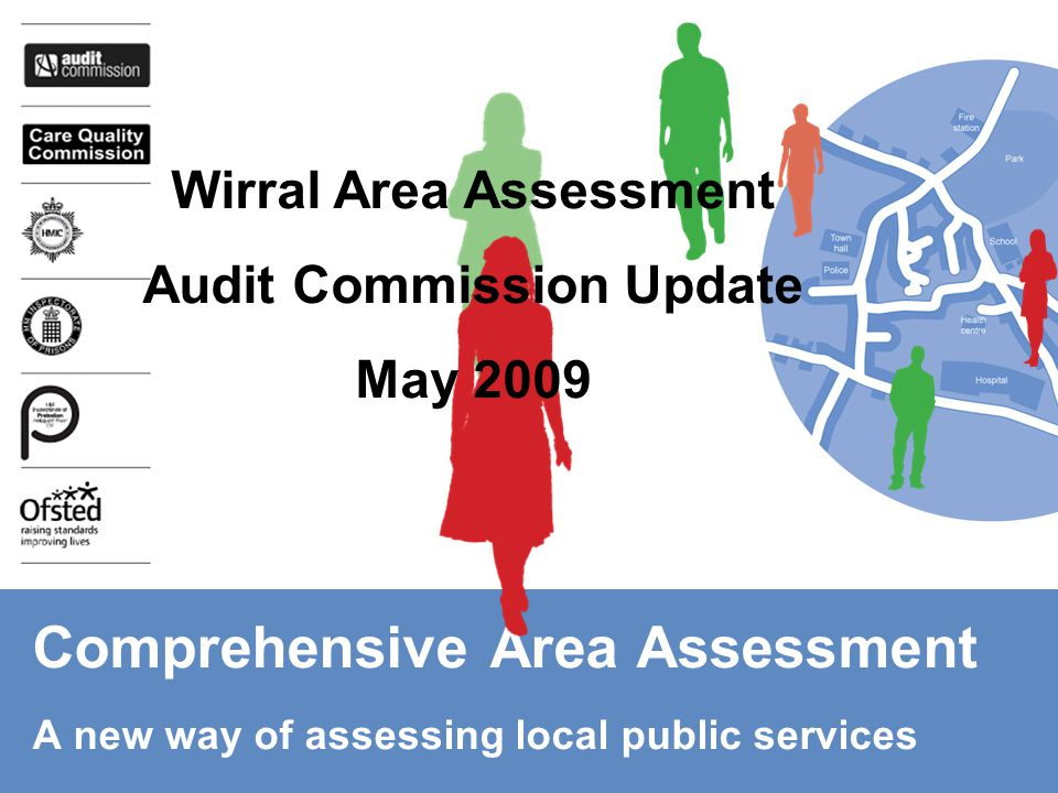 Comprehensive Area Assessment A new way of assessing local public services Wirral Area Assessment Audit Commission Update May 2009