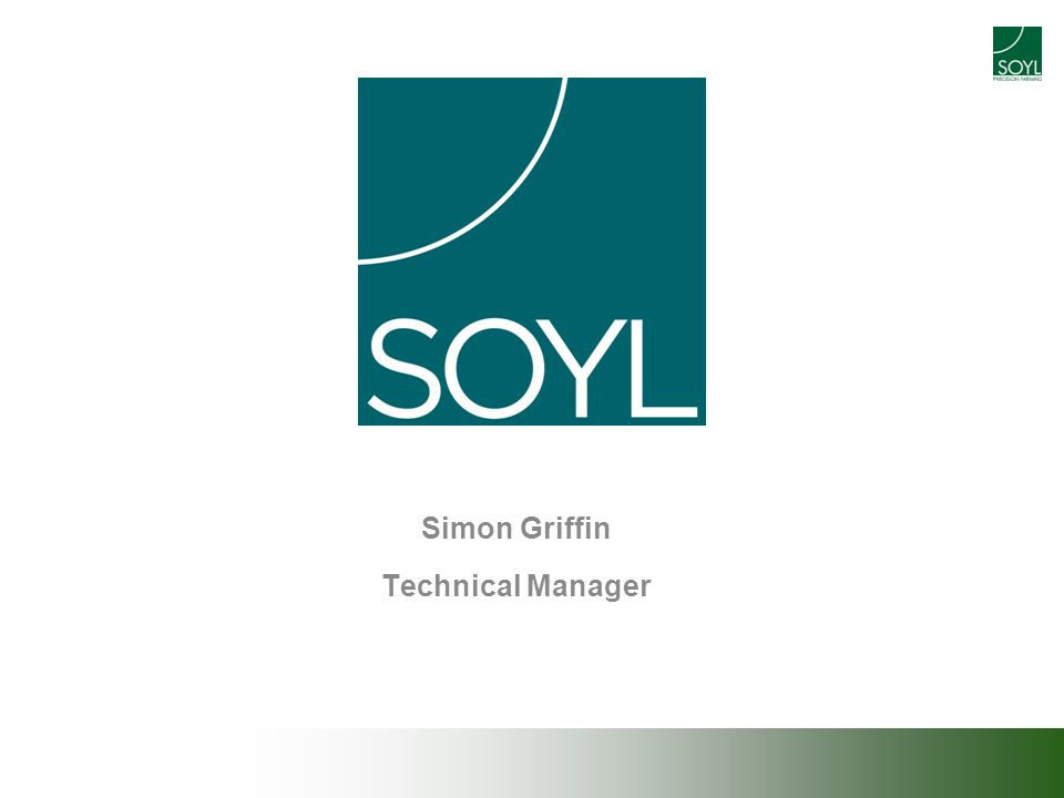 Simon Griffin Technical Manager