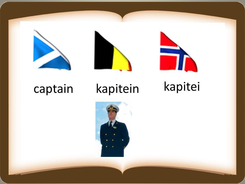 captainkapitein kapitei