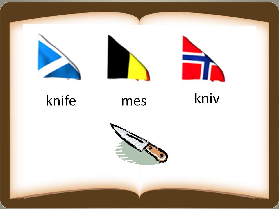 knifemes kniv