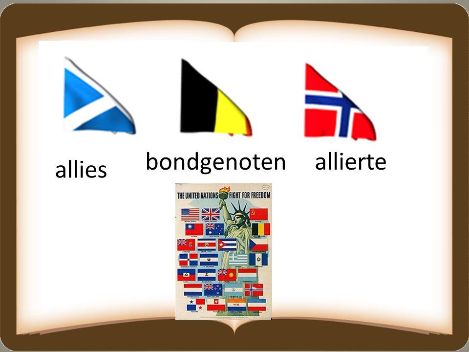 allies alliertebondgenoten